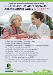Le nouveau livret explicatif de retraite plus comprendre for Aide sociale personnes agees maison de retraite